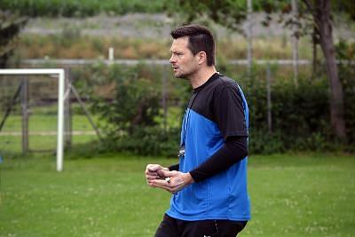 Mit Leidenschaft dabei: U11-Trainer Markus Keck.